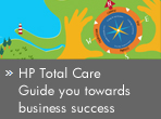 HP Total Care. Guide you towards business success.