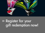 Register for your gift redemption now!