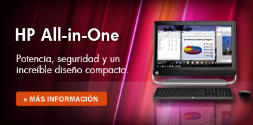 HP All in One Potencia, diseño compacto y elegante