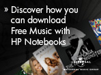 Free music with HP
