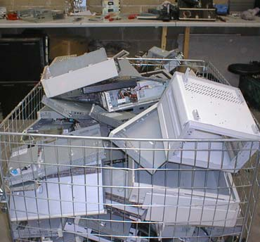 Photo of used computer hardware