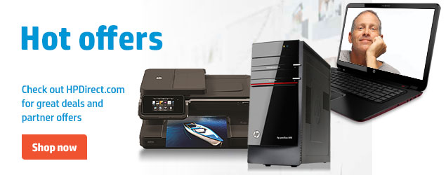 Hot offers. Check out HPDirect.com for great deals and partner offers. Shop now